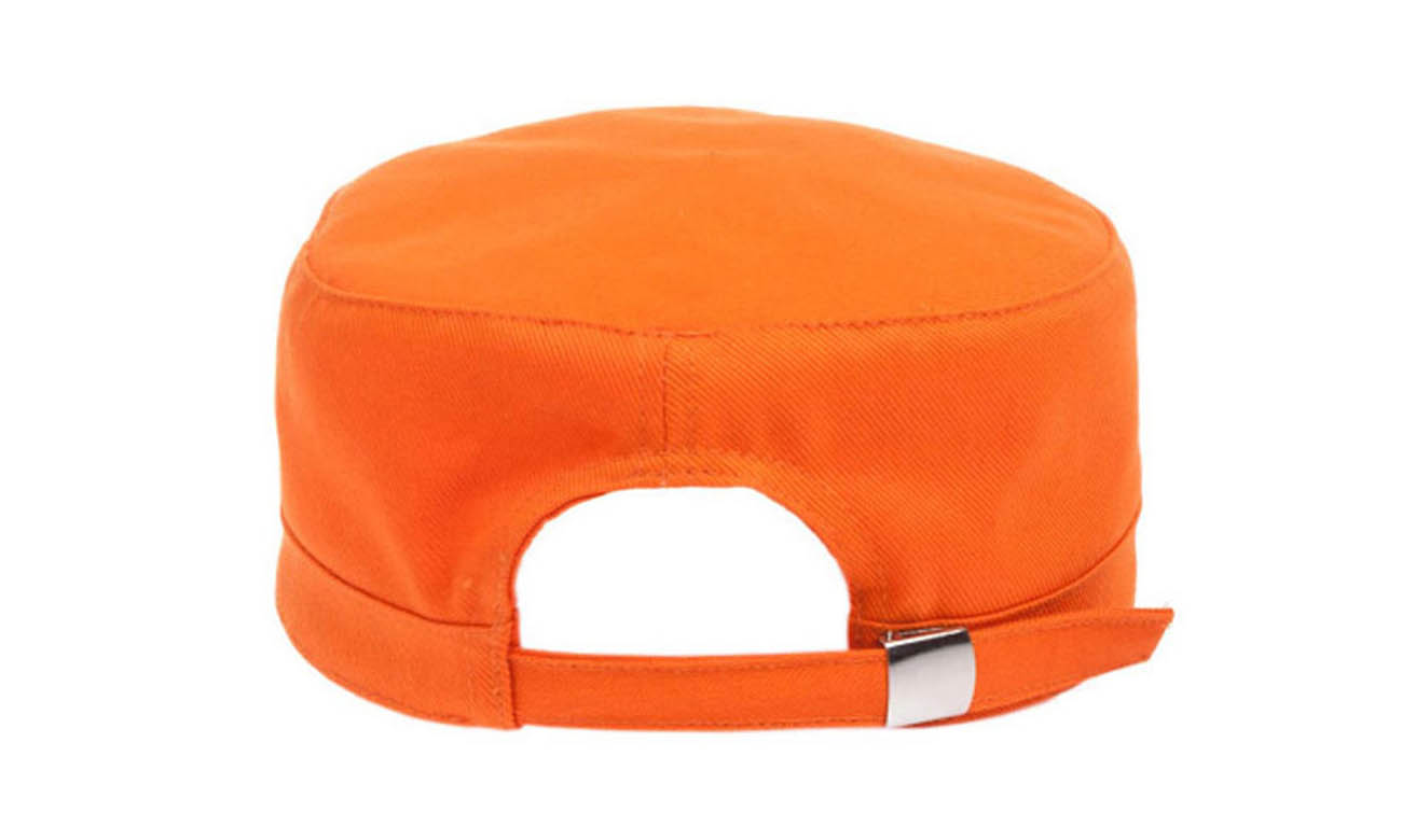 Armycaps T-500 Orange Hinten