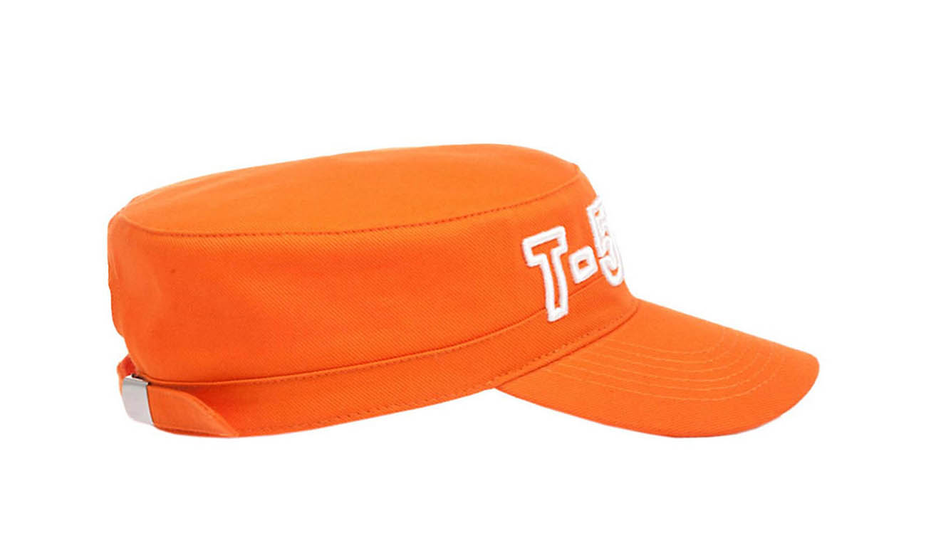 Armycaps T-500 Orange Seitlich Links