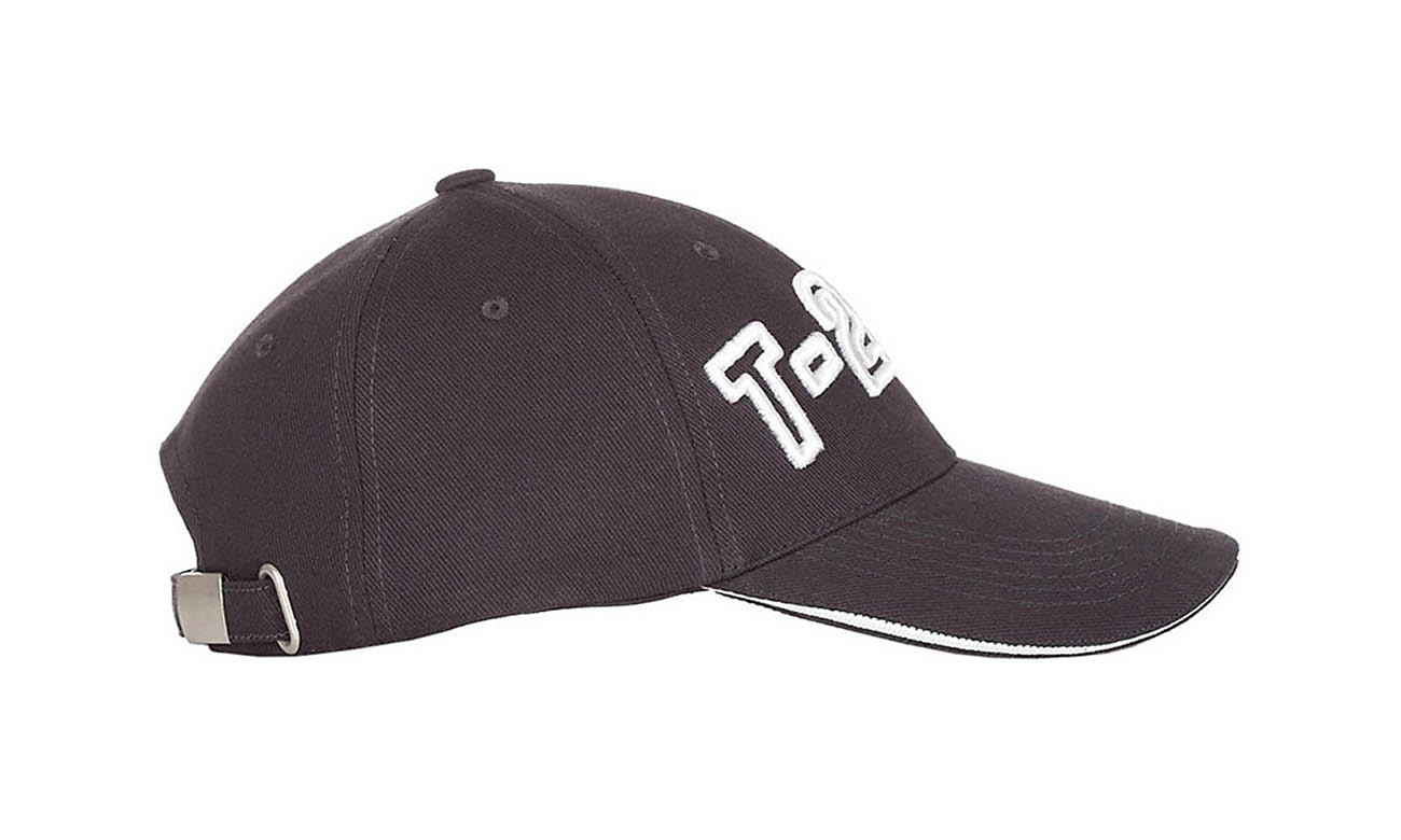 Baseballcaps T-200 Mousegray Seitlich Links