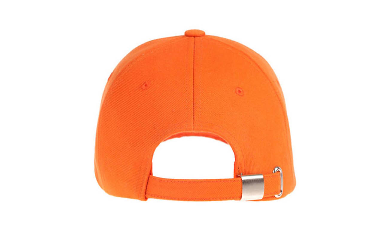 Basecaps T-300 Orange Hinten
