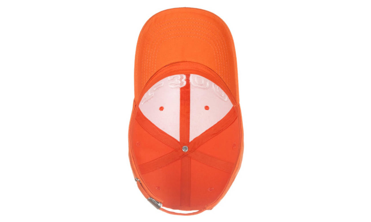 Basecaps T-300 Orange Unten