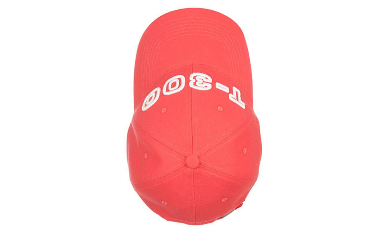 Basecaps T-300 Sunset Rot Oben
