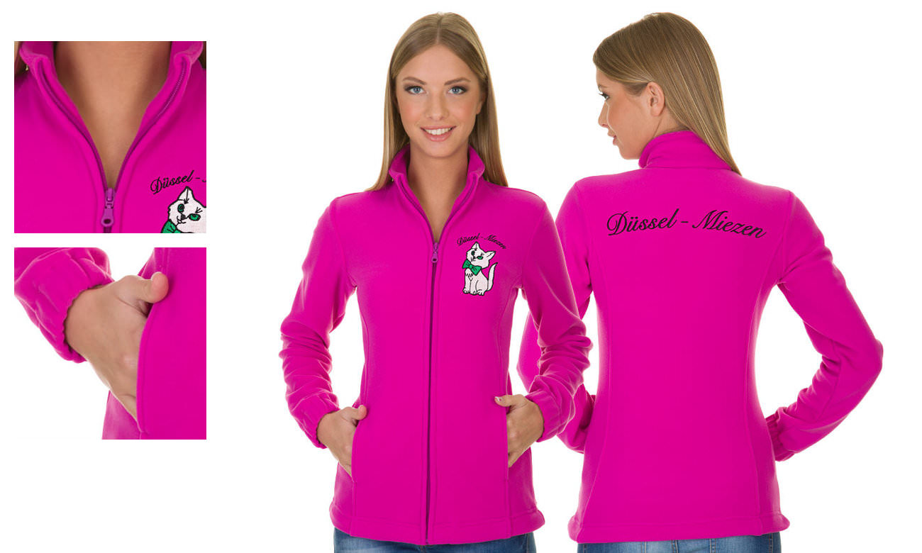 Fleece-Jacken ST-400 Beere Damen