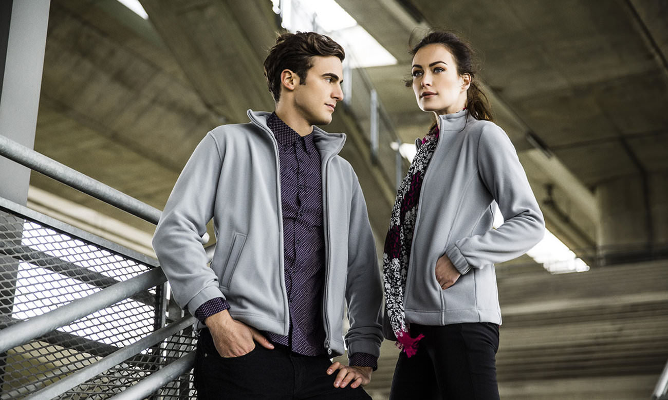 Fleece-Jacken ST-400 Dunkelgrau Fashion