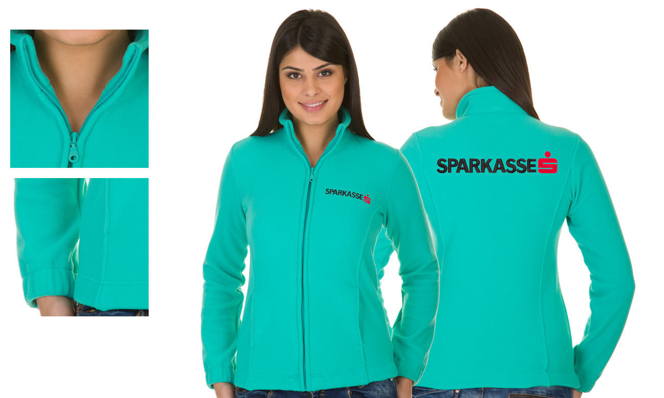 Fleece-Jacken ST-400 Mint Damen