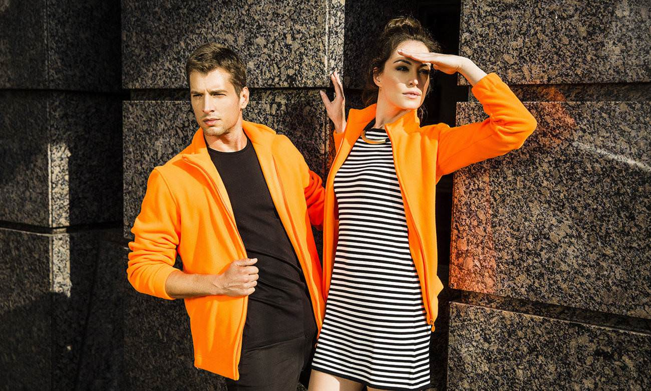 Fleece-Jacken ST-400 Neon Orange Fashion