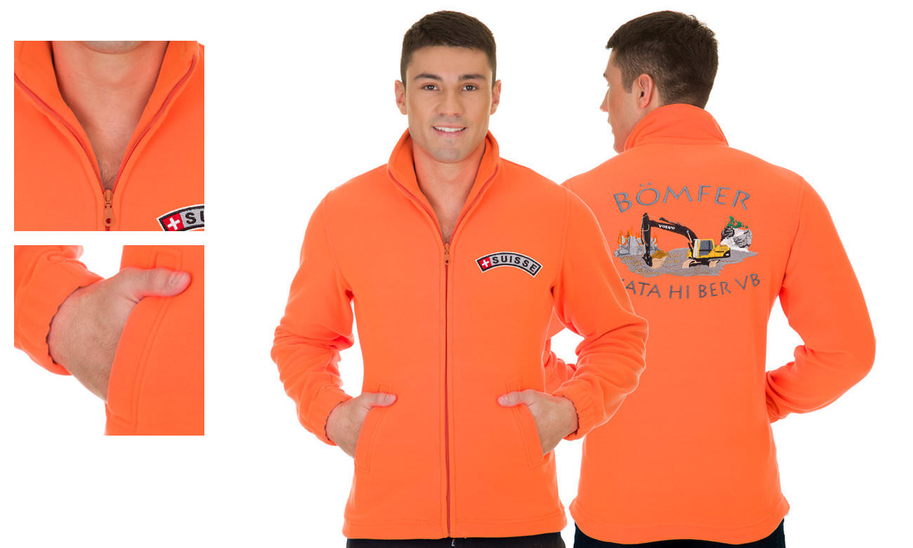 Fleece-Jacken ST-400 Neon Orange Herren