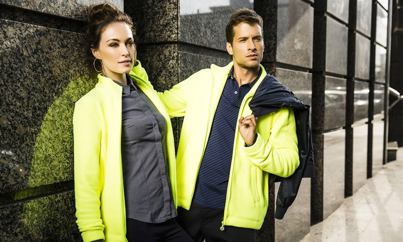 Fleece-Jacken ST-400 Neongelb Fashion