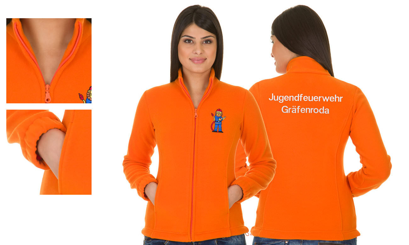 Fleece-Jacken ST-400 Orange Damen