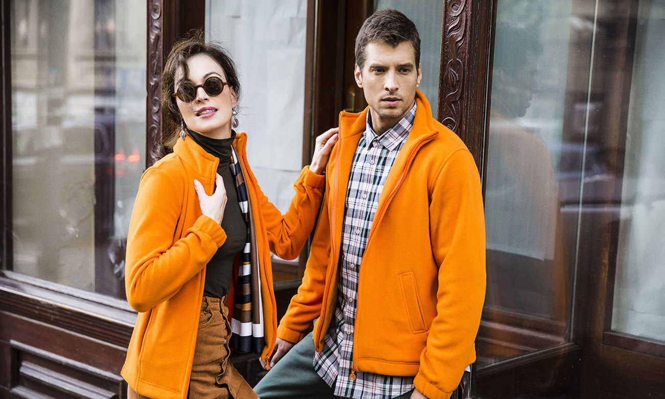 Fleece-Jacken ST-400 Orange Fashion