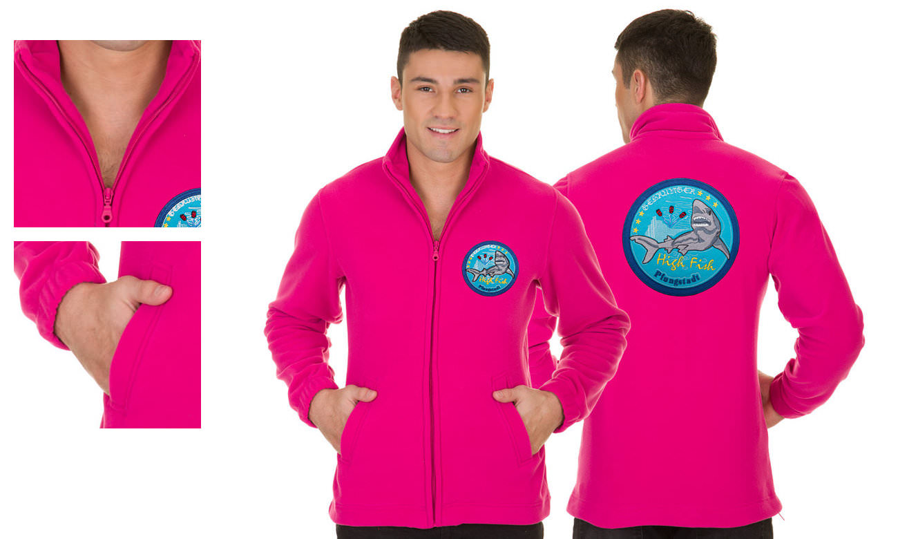 Fleece-Jacken ST-400 Pink Herren
