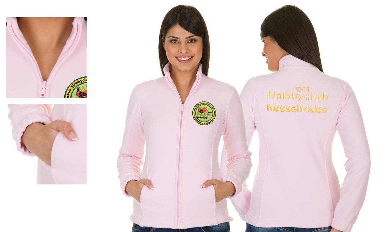 Fleece-Jacken ST-400 Rosa Damen