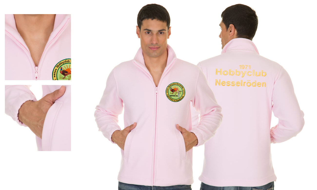 Fleece-Jacken ST-400 Rosa Herren