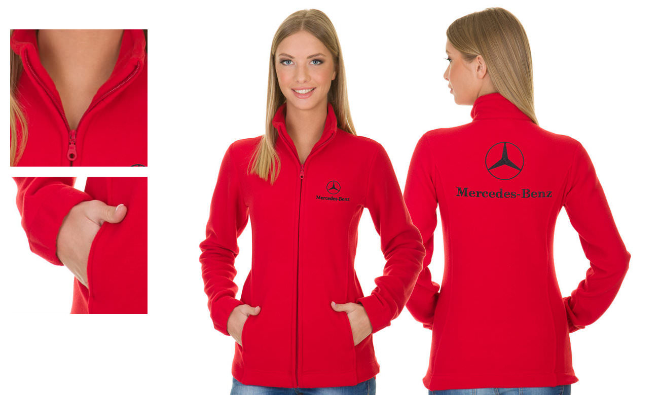 Fleece-Jacken ST-400 Rot Damen