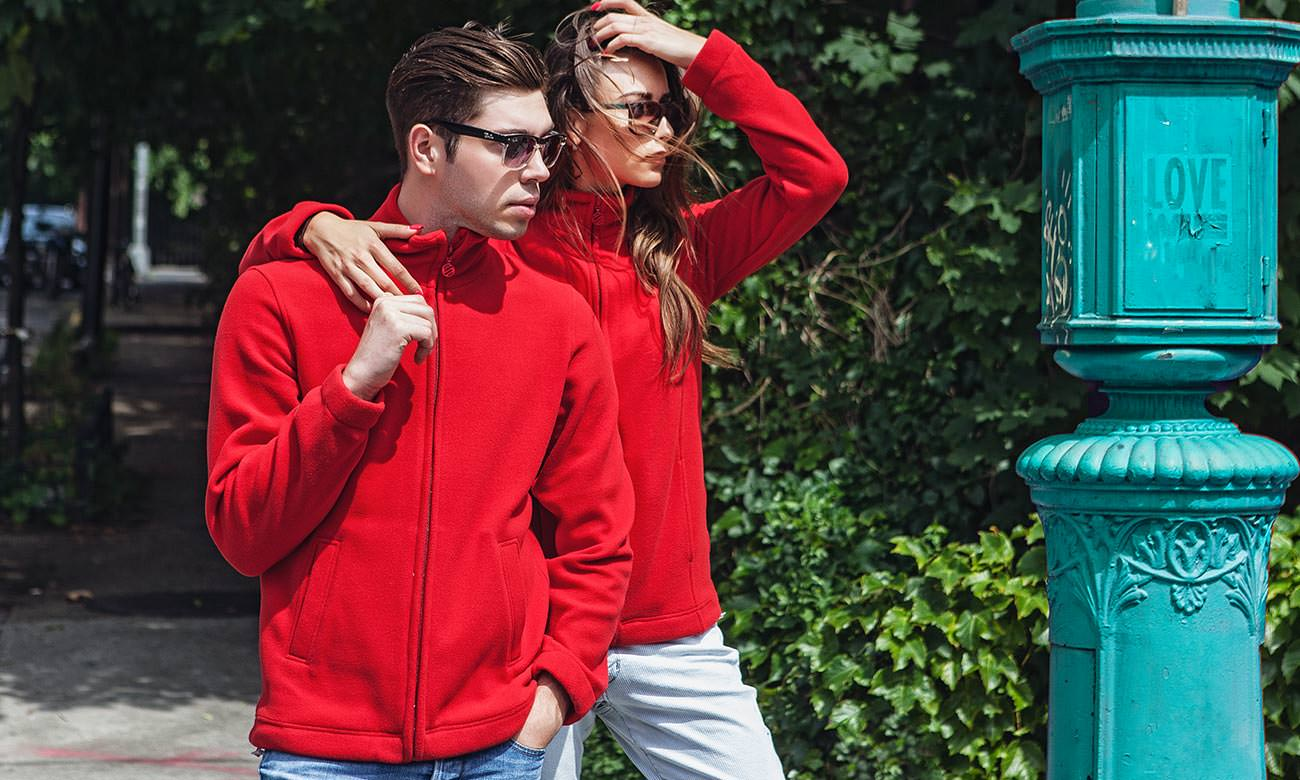 Fleece-Jacken ST-400 Rot Fashion