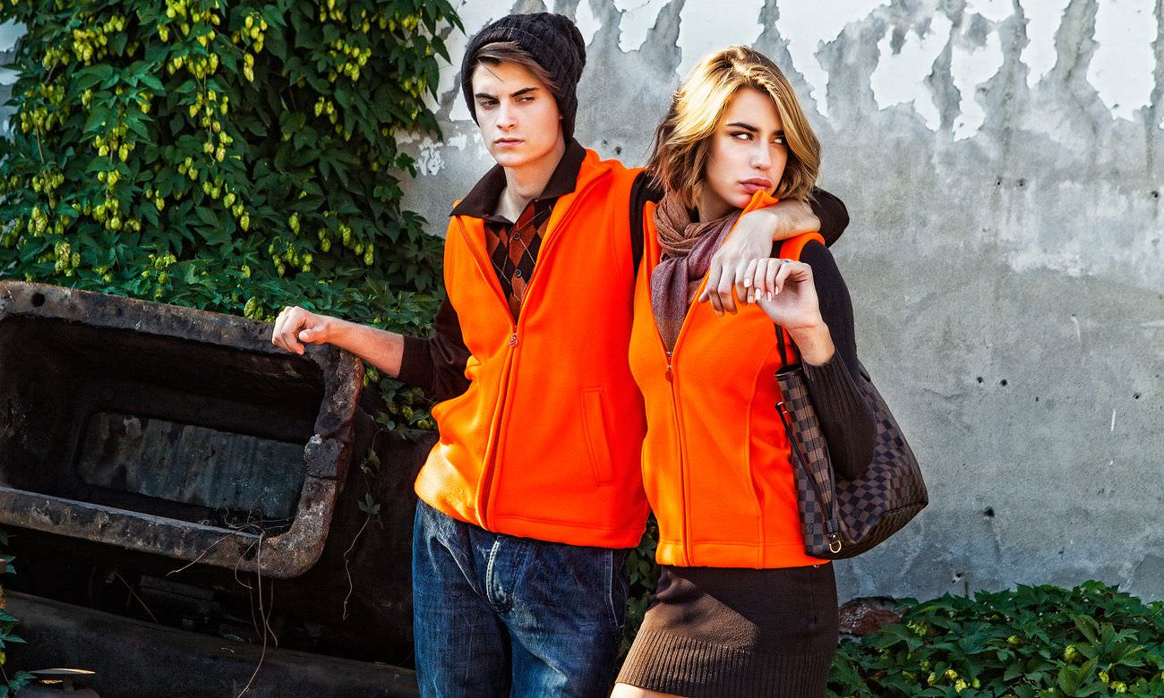 Fleece-Westen ST-405 Neon Orange Fashion