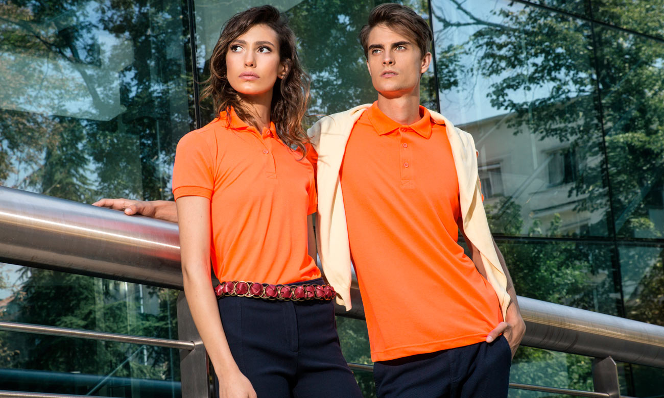 Poloshirts Standard Kurzarm ST-200 Neon Orange Fashion