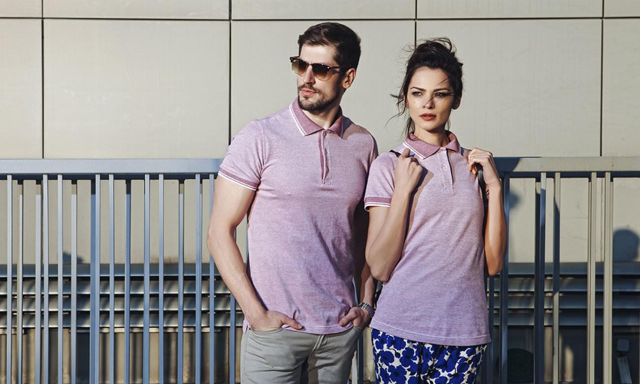 Poloshirts ST-235 Bordeaux Fashion