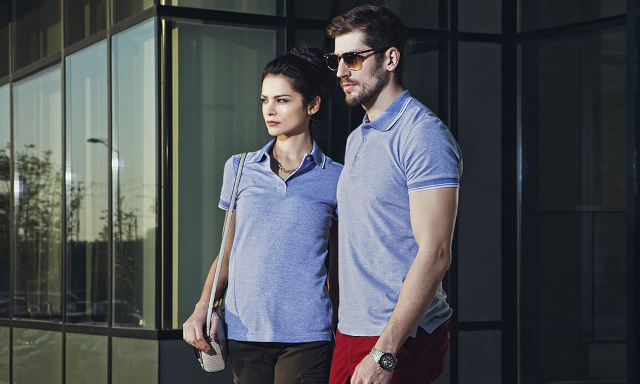 Poloshirts ST-235 Royalblau Fashion